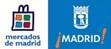 imágenes de los logos mercados de Madrid y Ayuntamiento de Madrid para el mercado en Madrid Tirso de Molina