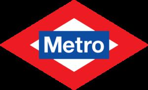 mercado en madrid Tirso de Molina el logo del metro