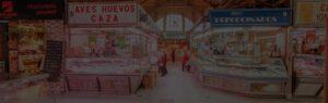 mercado en madrid Tirso de Molina imagen para el fondo