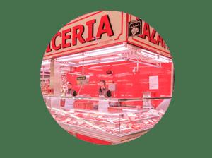 mercado en madrid tirso de molina miniatura de local carnicería Lázaro
