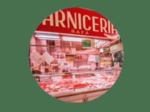 mercado en madrid tirso de molina miniatura de local carnicería Rafa