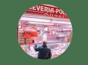 mercado en madrid tirso de molina miniatura de local pollería Ängel