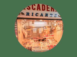 mercado en madrid tirso de molina miniatura de local pescadería Ricardo