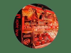 mercado en madrid tirso de molina miniatura de local vivir jamón siglo XXI