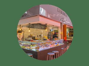 mercado en madrid tirso de molina miniatura de local charcutería Victor
