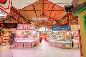 mercado Tirso de molina turistico en madrid