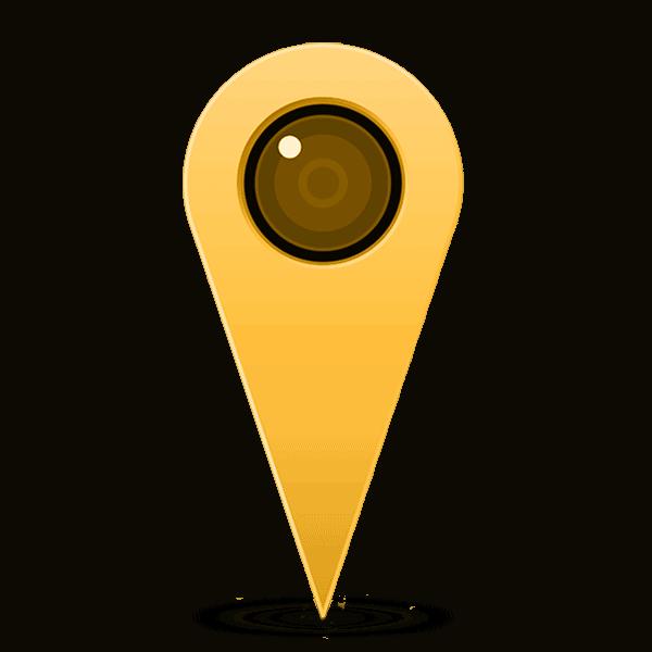 Icono para el icono del mercado tirso de molina icono de localizacion